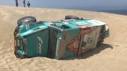 Tegenspoed voor Team de Rooy tijdens de Dakar Rally 2019.