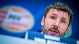 PSV-coach Mark van Bommel in aanloop naar het duel met FC Utrecht. (foto: VI Images)