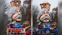 De winnende wagen van de optochten in Esbeek en Hilvarenbeek (foto : Astrid van Egmond).