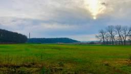 De Brabantse Wal bij Hoogerheide, de natuurlijke grens tussen Brabants zand en Zeeuwse klei. (foto: Raoul Cartens)
