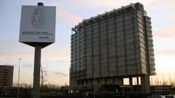 Het markante gebouw van Philips aan de Boschdijk. (Foto:archief)