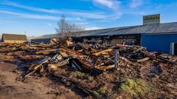 De brand zorgde voor een flinke ravage. (Foto: Marcel van Dorst/ SQ Vision