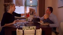 CDA-lijsttrekker Marianne van der Sloot thuis met haar man en dochter.