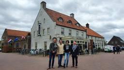 Door dorpsbewoners gecrowdfund Hart van Bourdonck geopend (Foto: Collin Beijk)