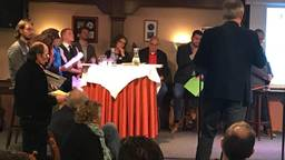 Politici op verkiezingstoer in Deurne (jan de vries)