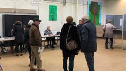Stemmen in De Nieuwe Meidoorn in Breda (foto: Tom van den Oetelaar)