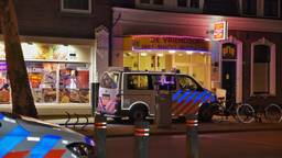 Cafetaria De Vriendschap in Tilburg is vrijdagavond overvallen (Foto: Toby de Kort)