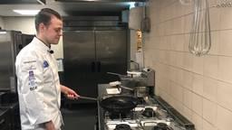 Leerling-kok Terence wint eerste prijs