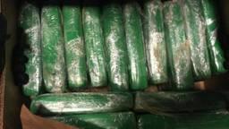 Pakketten cocaïne worden vaak tussen fruit verstopt en vervoerd. (foto: archief)