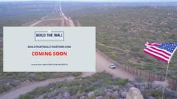 Brabants tintje aan bouw van omstreden muur is een verlate 1 aprilgrap. (Foto: buildhatwalltogethercom)