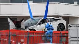 De BMW is op het droge gehesen. (Foto: Tom van der Put/SQ Vision)