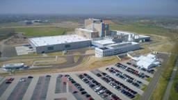 De nieuwe fabriek van Danone-Nutricia in Haps.