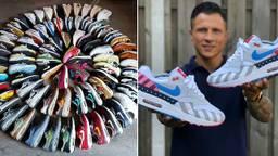 Davy Peijen verzamelt sneakers (foto: Instagram)
