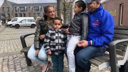 Voor Woinshet, Ahmed en hun drie kinderen werd 820 euro ingezameld. (Foto: Jacqueline Hermans)