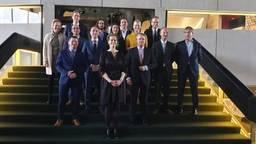 De fractievoorzitters (Foto: Collin Beijk).