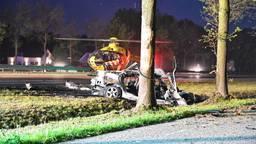 Man overleden bij ongeval op A58. (Foto: Tom van der Put/SQ Vision)