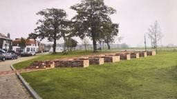 Ontwerp van het monument voor het kasteel van Geertruidenberg