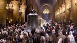 De Mariaklok in de Notre-Dame in Parijs