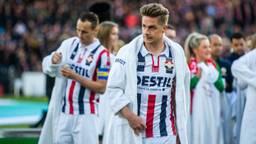 Willem II'er Jordens Peters na verloren bekerfinale (foto: VI Images).