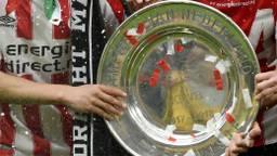 De schaal werd vorig seizoen wel uitgereikt in Eindhoven. (Foto: VI Images)