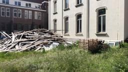 Bouwwerkzaamheden Parkhotel Madeleine stilgelegd (Foto: Ronald Strater)