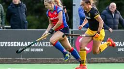Den Bosch moet zaterdag in de achtervolging tegen SCHC in de halve finale van de play-offs. (Foto: Orange Pictures)