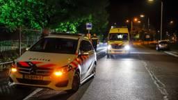 De bestuurder ging er na het ongeluk vandoor. (Foto: Marcel van Dorst/SQ Vision)