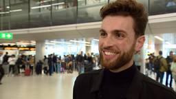 Duncan Laurence stuitert van enthousiasme om te vertrekken naar het Eurovisie Songfestival in Tel Aviv