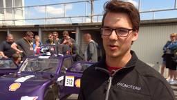 Luca Coevering van het Summa Eco United team.