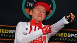 Sam Oomen heeft zijn rechterheup gebroken. (Foto: VI Images)