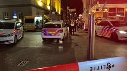 De politie rukte massaal uit na de melding. (Foto: Bart Meesters / Meesters Multi Media)