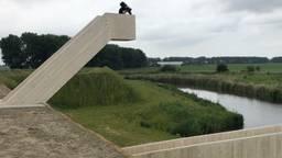 De uitkijktoren van Fort Henricus krijgt zaterdag een naam (Foto: Erik Peeters)