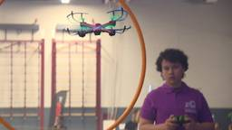 De 14-jarige Ruben is finalist tijdens bij de Drone Cup. (foto: Eva de Schipper)