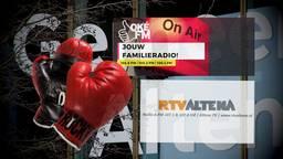 Lokale omroepen Altena figuurlijk in de boksring: wie gaat er winnen?