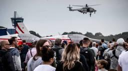 Drukte op de Luchtmachtdagen in Volkel (foto: Rob Engelaar).