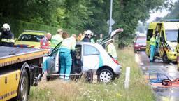 Twee mensen raakten gewond. (Foto: Sander van Gils/SQ Vision)