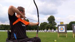 Roy Klaassen is de enige Nederlander die meedoet aan de Para Wereldkampioenschappen handboogschieten.
