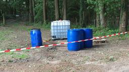 De vaten werden ontdekt op de Kwade Hoek in Riel. (Foto: Stuve Fotografie)