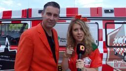 Ronald en Eva bij de finale van het WK voetbal (Foto: Omroep Brabant)