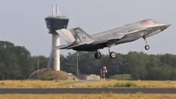 De F-35 is weer op weg naar Amerika (Foto: Joris van Boven)