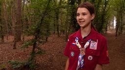 Renske Olde (14) uit Mill gaat naar Amerika voor het grote scouting evenement Jamboree.