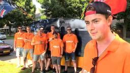 Met 7 vrienden vertrekt Luke Merkx naar de GP in Oostenrijk om Max Verstappen aan te moedigen.