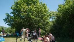 Lekker recreëren onder een Eikenboom