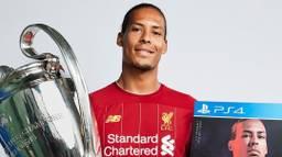 Sterspeler Virgil van Dijk uit Breda pronkt op de nieuwe cover van het voetbalspel Fifa 20 (Foto: Instagram).