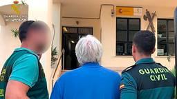 De vleeshandelaar werd opgepakt in Spanje (foto: Guardia Civil).