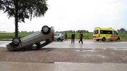 Van de auto is niets meer over (Foto: Marco van den Broek/SQ Vision Mediaprodukties).