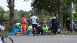 Het ongeluk gebeurde rond het middaguur. (Foto: Siem Breunese/SQ Vision)