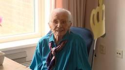 Riek Hendriks-Wanroij vierde zondag haar 106-de verjaardag
