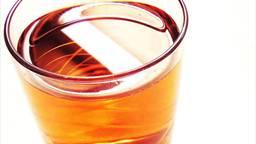 Een glas ranja