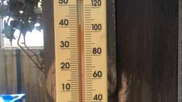 De 40 graden wordt misschien aangetikt (archieffoto: Martien van Dam).